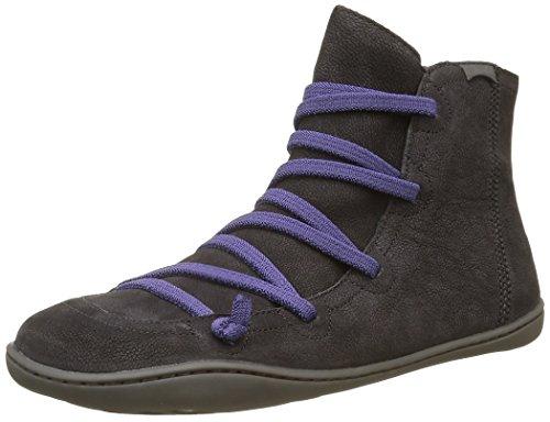 CAMPER Peu Cami, Damen Kurzschaft Stiefel, Schwarz (Black 080), 39 EU (6 UK) (Camper Stiefel Schuhe)