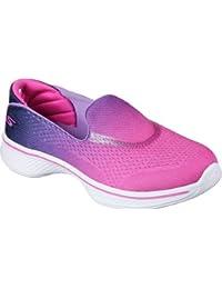 Skechers Girls' Go Walk 4-Sporty Starz Trainers
