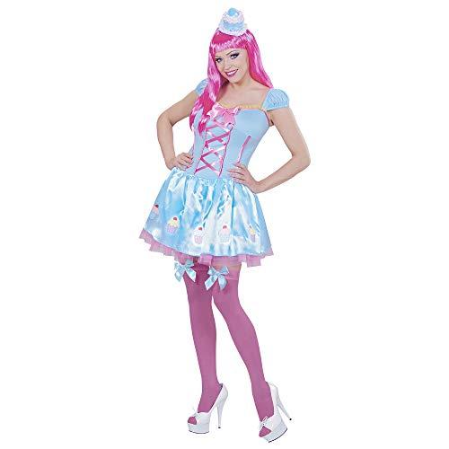 Karneval Kostüm Damen Candy - Widmann 01742 - Erwachsenenkostüm Candy Girl,