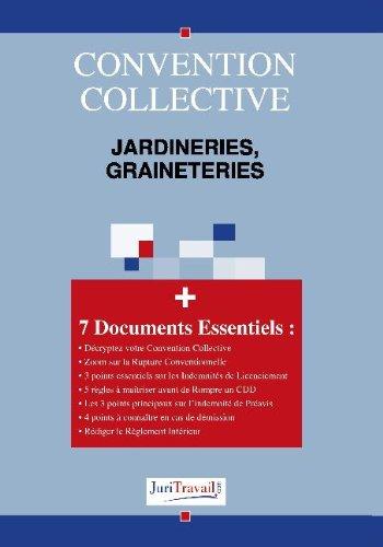 3272. Jardineries, graineteries Convention collective