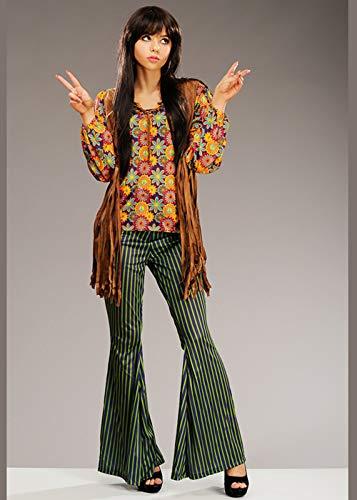 s 1960er Jahre Cher Style Hippy Sänger Kostüm Medium (UK 12-14) ()