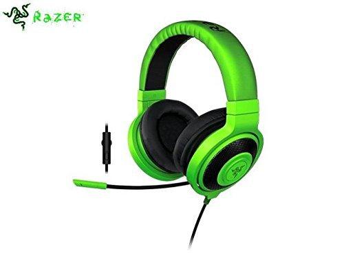 Razer Kraken Pro 2015 Audio Analog Gaming Headset w Mic Green  available at amazon for Rs.28428