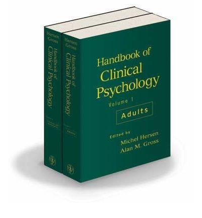 [(Handbook of Clinical Psychology: Adult...
