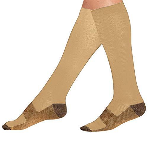 MOIKA Damen und Herren Compression Socks Hochwertige Kompressionsstrümpfe, Sprunggelenkschutz und Mittelfußstütze besten für Laufsport-Medizinstrümpfe Strumpfhose -