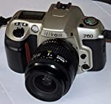 Nikon F60 - Cámara réflex analógica (Incluye PHOTOBLITZ NIKORR AF - Objetivo (35-80 mm, 1:4-5.6 D)