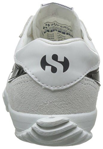 Superga 2832 Nylu, Chaussures de Volleyball Mixte Adulte Blanc - Weiß (909)