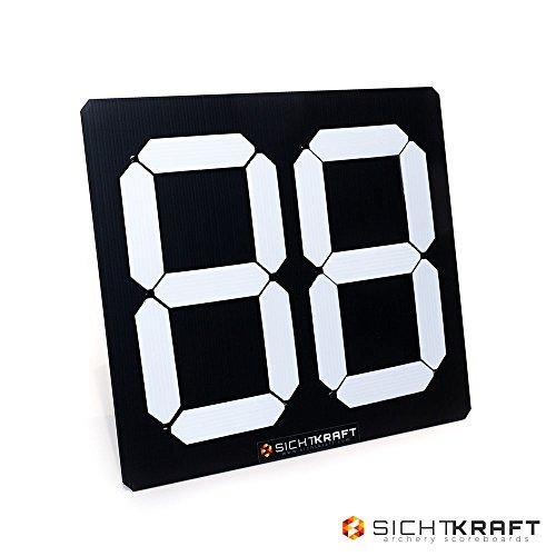SICHTKRAFT Spielstandsanzeige Universal 2D Anzeigetafel Indoor & Outdoor