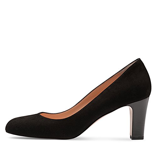Scarpe Evita Damen Pump Pumps Schwarz