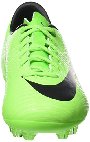Nike Mercurial Vapor Xi Ag, Scarpe da Calcio Unisex – Bambini Verde (Electric Green/black-flsh Lm-wht)