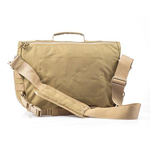 YAKEDA Messenger Bag tattico tattico sbalzo Messenger Style Bag 8.5L-BKF-040 Cachi