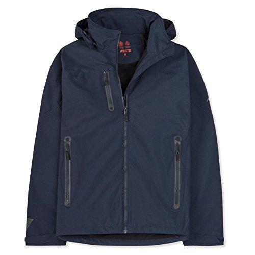 Nylon-fleece-jacke-mantel (Musto Herren Sardinia BR1 Yacht Segeln und Bootfahren Mantel Jacke Mantel Navy - Leichtgewicht. Wasserdicht und atmungsaktiv)