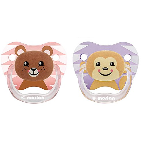 Dr. Brown's Prevent Classic Animal Faces T2 - Chupete bebé