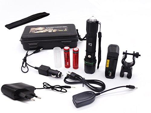Preisvergleich Produktbild JOYORUN CREE Q5 LED Taschenlampe SWAT Flashlight 3 Leuchtungsmodi für Campen Wandern usw