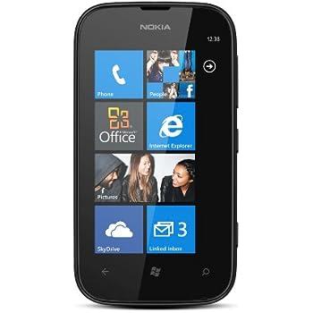 Nokia Lumia 510 Smartphone, Display Multi-Touch da 4 Pollici, Memoria 4 GB, Wi-Fi, Nero