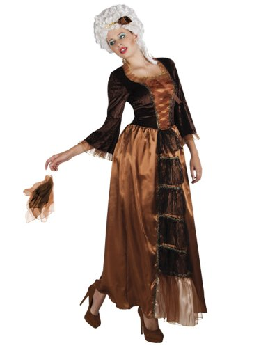 hsenenkostüm Noble Lady, Größe 44/46 (Reiche Frau Halloween Kostüm)