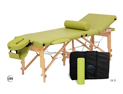 Reflex–leggero pieghevole portatile per massaggi estetista tattoo terapia divano letto con free cover e borsa per trasporto–10colori