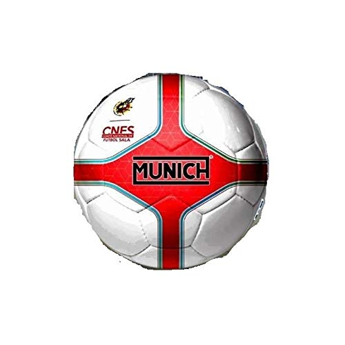 Munich Balón de Fútbol Sala RFEF Blanco