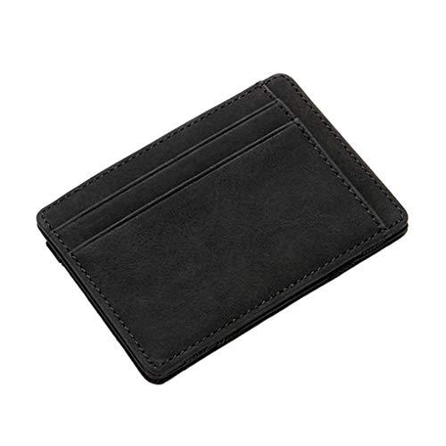 Masterein Männer Frauen Mädchen-Mini-Card-Mappen-Beutel-Geldbeutel-Reißverschluss-Münzen-Organisator-Beutel-Kreditkarte-Halter-Kasten -