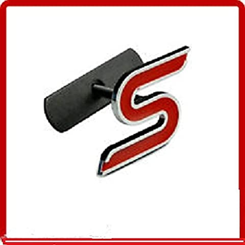 s sport 23555 Badge Logo Emblème Grill Avec Kit De