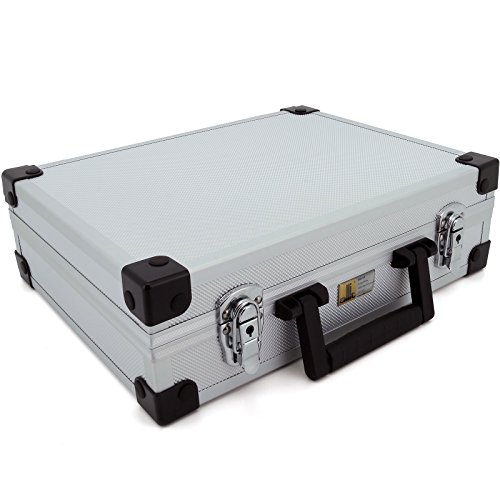 Aluminium Koffer Basic L38 Silber Typ 424150