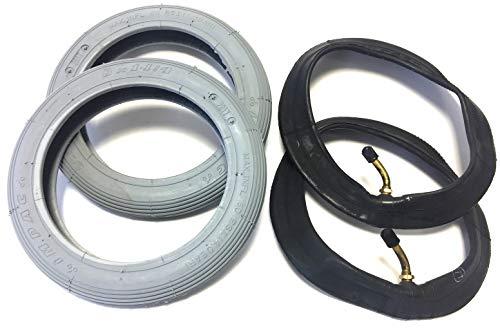 Ro Lot de 2 pneus de fauteuil roulant 8 x 1\