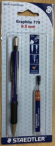 Staedtler Staedtler 7795ABK25D Druckbleistift graphite und 1 ST Feinminendose (HB) gratis gefüllt...