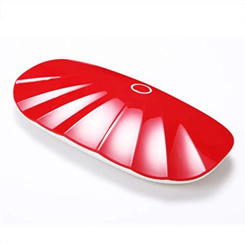 Nagel-Phototherapie-Lichttherapie-Maschine Backen-Nagel-Trockner-Minischnelltrocknender geführter Ofen-Minischneller Trockner,Red (Uv-ofen)
