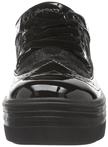 Fiorucci Fdac013, Baskets Basses Femme Noir - Noir