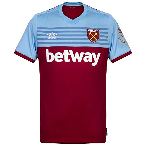 Umbro West Ham Home S/S - Camiseta para Hombre