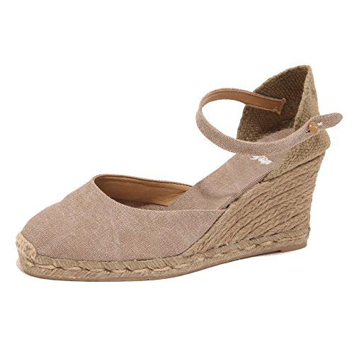3394P scarpa donna CASTANER beige sandalo shoe sandal woman [39]