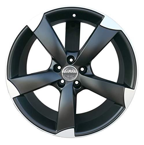 F931 mbp 1 cerchio in lega 8j 18 5x112 et25 66,5 per audi a4 allroad a6 allroad a5 a7 sportback q3 q5 modello rotor italy