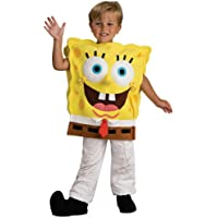 Costume bambino deluxe Spongebob taglia M, 5-7 anni