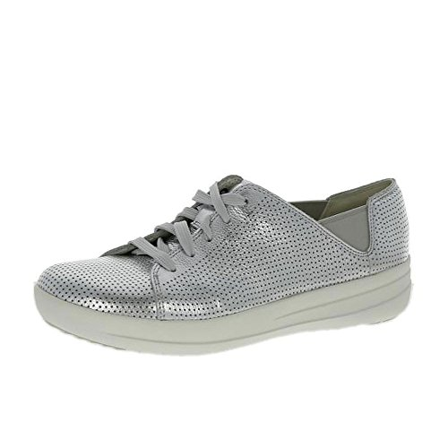 F-sportive FitFlop Lacez Argent Sneaker (perf) silver