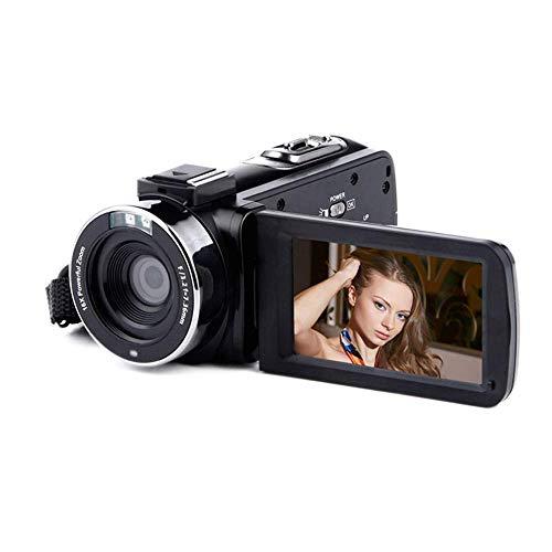 JIEJIEDA Full Hd Digitalkamera Nacht Vision Dv Smart WiFi Kamera DV kann externes Mikrofon-Weitwinkel-Objektiv (Digitalkamera Mikrofon Externes)