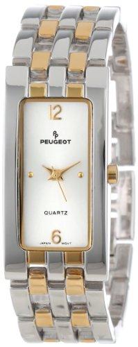 Peugeot Women's 1013TT Two-Tone Bracelet Watch