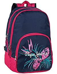 Pepe Jeans 63724A1 Honey Mochila Escolar, 30.98 Litros, Color Azul
