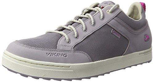 Viking Sogn Gtx, Chaussures Multisport Outdoor Mixte Adulte Violett (Grey/Magenta)