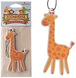 Giraffe Banana Air Freshener by zooniverse