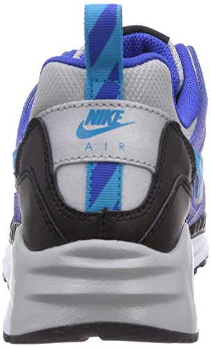 Nike Air Max Trax Jungen Sneakers Blau (Metallic Silver/Blue Lagoon-Lyon Blue-Black)