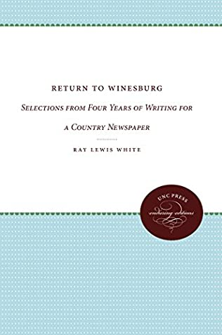 book cover of Return to Winesburg