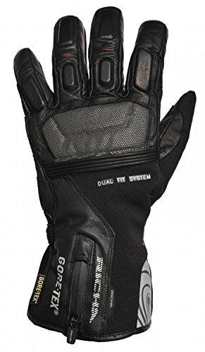 Richa Level 2in 1GTX Gore-Tex impermeabile guanti in pelle moto (Guanti Moto Meteo Pelle)