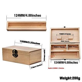 Dough.Q Aufbewahrungsbox Mit Deckel Holzbox Organizer Tragbare Kampfer Holz Aufbewahrungsbox Stash Box Organizer Für Artikel Zubehör