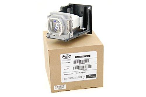 Alda PQ Premium, Beamerlampe / Ersatzlampe passend für MITSUBISHI HC4900, HC5000, HC5000(BL), HC5500, HC6000, HC6000(BL), HC4900W, VLT-HC5000LP Projektoren, Alda PQ Lampe mit Gehäuse / Halterung