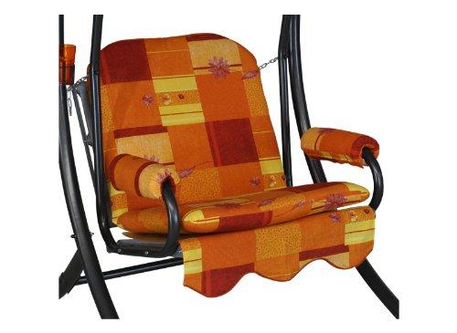Angerer Schaukelauflage, Single 1-Sitzer Design Toledo, terra, 178x56x56 cm, 1017/193