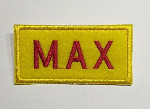 shoperama 2 Broke Girls - Namensschild Caroline oder Max Kellnerin Serie Kostüm Karnevalskostüm Schild, Namen:Max