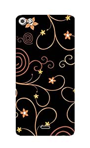 SWAG my CASE Printed Back Cover for Micromax Canvas Sliver 5 Q450