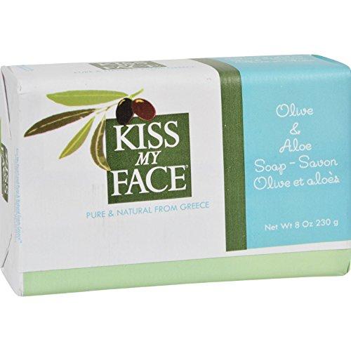 Kiss My Face Pain de Savon à l'Olive et Aloé , 227 g
