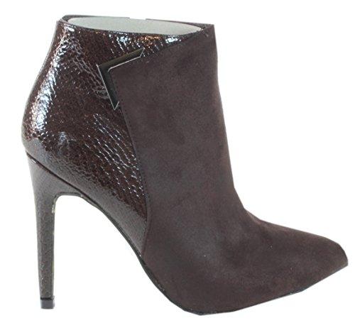trendBOUTIQUE , bottes & bottines femme Marron - Marron