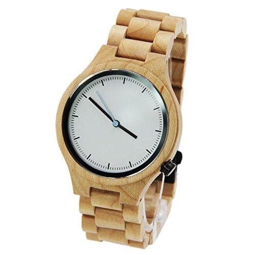 GDS Das neue Holz-Uhren / Unisex / natürliche Holz / Ahorn / paar Uhr / Leder Armband / Geschenk / tragbar / Zubehör , men