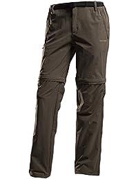 Regatta Xert Stretch Zip-Off Trouser ebony